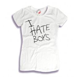 Koszulka damska I Hate Boys