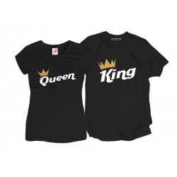 Komplet koszulek King Queen