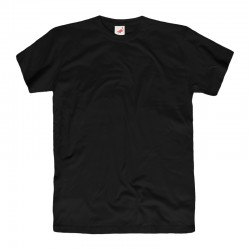 Koszulka męska bawełniana czarna