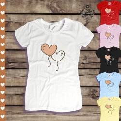 Koszulka damska Balony serca