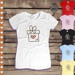 Koszulka damska Serce w prezencie