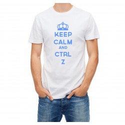 Koszlka z nadrukiem - Keep Calm and Crtl Z