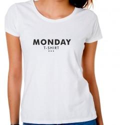 Koszulka damska Monday t-shirt