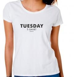 Koszulka damska Tuesday t-shirt