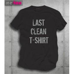 Koszulka męska z nadrukiem Last clean t-shirt