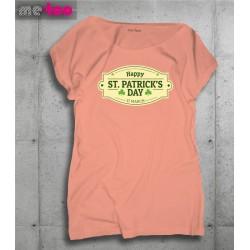 Koszulka damska z nadrukiem Happy St. Patrick's Day - 17 March