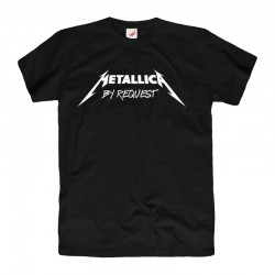 Koszulka t-shirt Metallica By Request