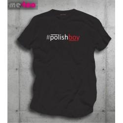 Koszulka męska z nadrukiem Polishboy