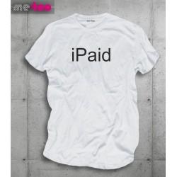 Koszulka męska z nadrukiem iPaid