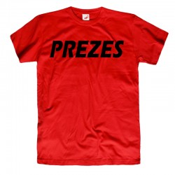 Koszulka t-shirt PREZES