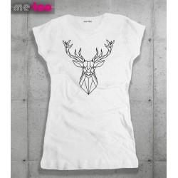 Koszulka damska Geometric Deer