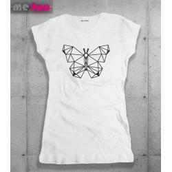 Koszulka damska Geometric butterfly
