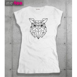 Koszulka damska Geometric owl