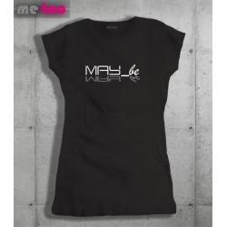 Koszulka damska z nadrukiem May_be