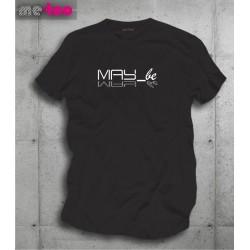 Koszulka męska z nadrukiem May_be