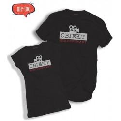 Komplet koszulek dla Niego i dla Niej, nadruk: Obiekt monitorowany