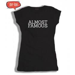 Koszulka damska z nadrukiem Almost famous