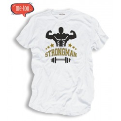 Koszulka męska z nadrukiem Strongman