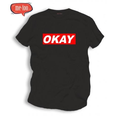 Koszulka z nadrukiem OKEY