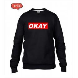 Bluza z nadrukiem OKAY