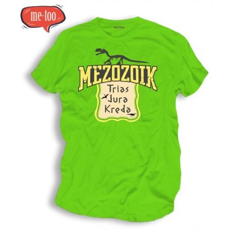 Koszulka męska z nadrukiem Mezozoik