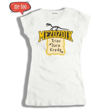 Koszulka damska z nadrukiem Mezozoik