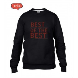 Bluza męska z nadrukiem Best of the best