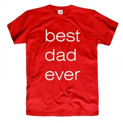 Koszulka t-shirt best dad ever
