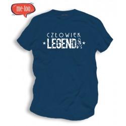 Koszulka męska Człowiek Legenda