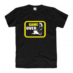 Śmieszne koszulki Game over wz2