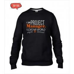 Męska bluza I am Project Manager...