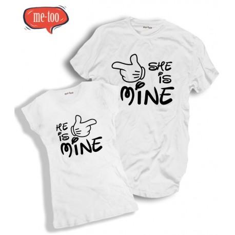 Komplet koszulek He's Mine / She's Mine