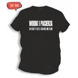 Śmieszna koszulka Wódki i Pacierza