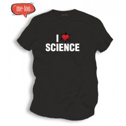 Koszulka t-shirt I love science