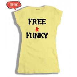 Koszulka Damska Free and Funky