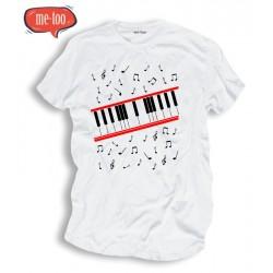 Koszulka męska Michael Jackson klawisze