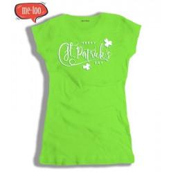 Koszulka damska z nadrukiem Happy St. Patrick's Day