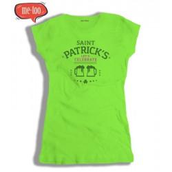 Koszulka damska Saint Patrick's - Let's celebrate