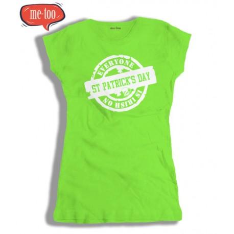 Damska koszulka na Dzień Św. Patryka - St. Patrick's Day