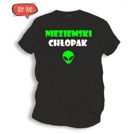 Koszulka t-shirt: Nieziemski Chłopak
