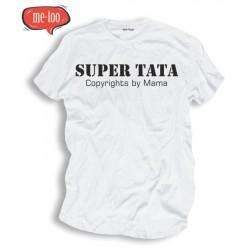 Śmieszne koszulki Super Tata copyright by mama
