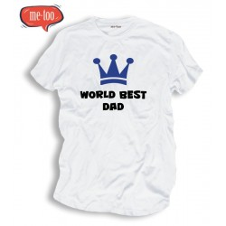 Koszulka męska t-shirt World best dad