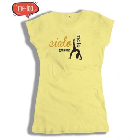 Koszulka damska z nadrukiem Ciało jakich mało