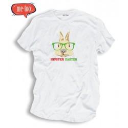 Męska koszulka Wielkanocna Hipster Easter