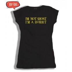 Koszulka damska I'm not Short I'm HOBBIT
