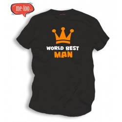 Koszulka /t-shirt męski: World best man