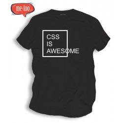 Koszulka informatyczna CSS is AWESOME