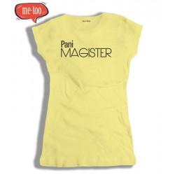Koszulka damska Pani Magister