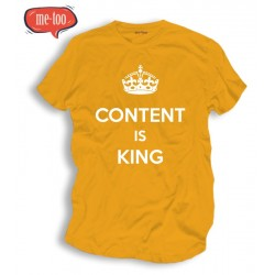 Koszulka SEO Content is King