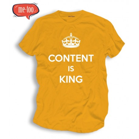 Koszulka SEO Content is King